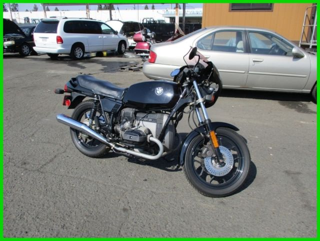 1982 BMW R-Series 65 LS Motorcycle 649cc NO RESERVE