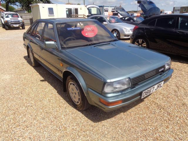 1986 Nissan BLUEBIRD SGX  Manual Hatchback