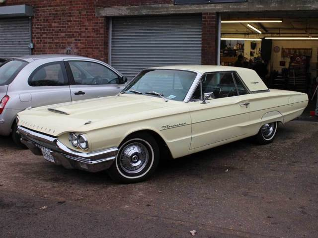 1964 Ford Thunderbird Automatic Harvest Moon Yellow 3.9cu inch 6,400cc V8 DRR256