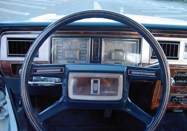 1982 Ford Mercury Grand Marquis 4 Door Sedan Very Rare