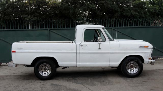 1972 Ford F-100 California Shortbed