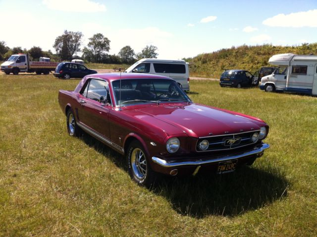 """1965 Ford Mustang 289 V8 """"A Code"""" With GT Options."""