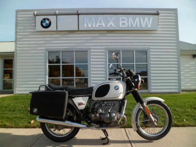 1976 BMW R75/6 very nice airhead @ MAX BMW NH