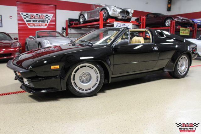 1987 Lamborghini Jalpa  10465 Miles Black