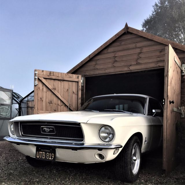 "1968 V8 ""289"" Ford Mustang: Automatic, Power Steering, Disc Brakes, Dual Exhaust"
