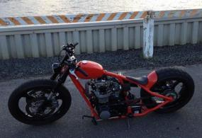 1973 Yamaha XS650 custom bobber chopper For Sale Faber
